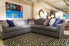 Kelsey Sectional - Bernhardt Furniture Sectional, Custom Sofa, Family Room Design, Modern Sofa Sectional, Bernhardt, Family Room, Furniture, Living Room Designs, Bernhardt Furniture