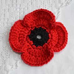 Hey, I found this really awesome Etsy listing at https://www.etsy.com/listing/208463702/large-red-poppy-lapel-pin-brooch