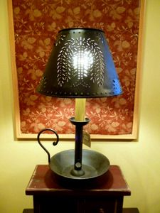 Primitive Country Lighting - Lamps/Shades/Bulbs