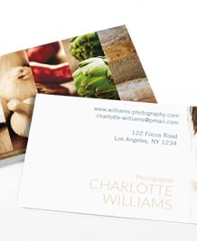Business cards @ Moo