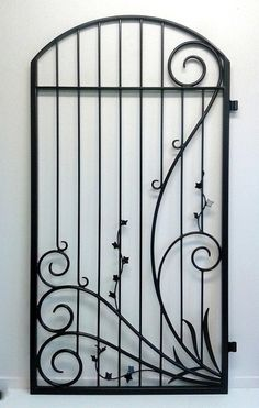 Adam Styles Creative Metal, custom metal and wrought iron gates and fencing, Nelson, NZ