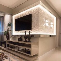 Easy Home Decor For Everyone – Best Puzzles, Games, Ideas & Living Room Interior, Home Interior Design, Living Room Decor, Modern Tv Wall Units, Living Room Tv Unit Designs, Tv Wall Decor, Tv Wall Design, Easy Home Decor, House Styles