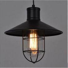 Loft American restaurant industry retro lamps simple creative creative chandelier bar cage(China (Mainland))