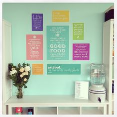 Joyous Health HQ - Such a beautiful idea. and inspirational too.