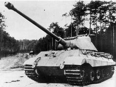 The German King Tiger tank. The most powerful tank the allies had to face on the battlefield during the last days of WWII.