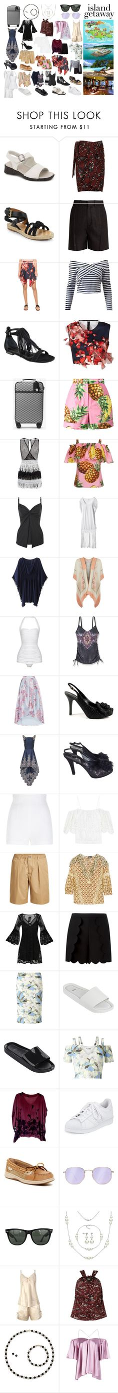 """""""Warm & Wonderful Jamaica Getaway"""" by bethnjulia ❤ liked on Polyvore featuring Munro American, Étoile Isabel Marant, Chloé, Clover Canyon, Kendall + Kylie, prAna, MICHAEL Michael Kors, Dolce&Gabbana, Norma Kamali and Miraclesuit"""