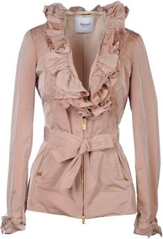 """Blumarine"" jacket. I adore."