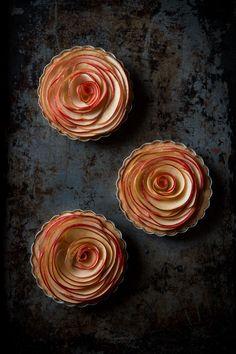 Caramel Apple Tartlets, with Cajeta