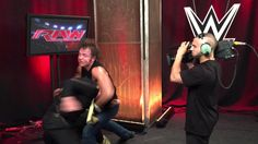 EXCLUSIVE:  Footage catches Seth Rollins in the act
