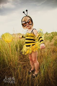 Halloween is just around the corner...bumblebee costume