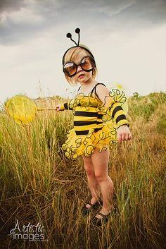 Halloween is just around the corner...bumblebee costume