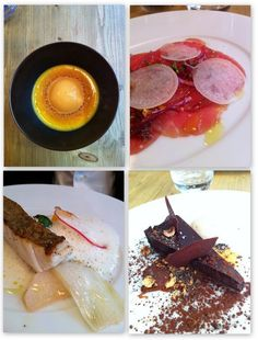 Hidden gem in Paris, great omakase lunch menu for 25€. Loved the mackerel with carrots, fresh & tasty products. A different menu for each table. - Abri, rue du faubourg poissonière.