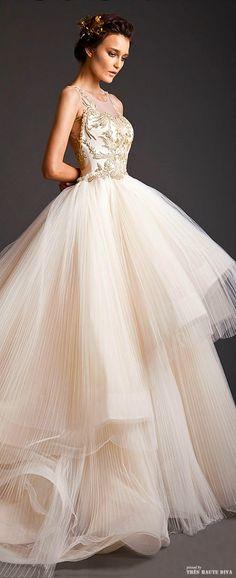 Blush wedding | blush pink | powder pink | Pastel pink | Krikor Jabotian Couture S/S 2014