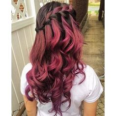 10 Shades of Red, More Choices to Dye Your Hair Red ❤ liked on Polyvore featuring hair and hairstyles