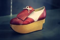 Vintage Vivienne Westwood platform - both a women's and men's version of this style of shoe