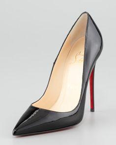 Christian Louboutin So Kate Patent Red Sole Pump b651728fc7b0