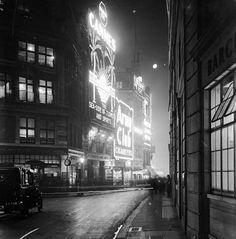 Glasshouse Street, London, 1928