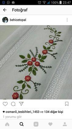 Border Embroidery Designs, Hand Embroidery Patterns, Baby Knitting Patterns, Border Design, Pattern Design, Brazilian Embroidery, Bargello, Layers Design, Preschool Crafts