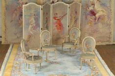 tapisserie de la monarchie française | Sièges, paravents, écrans, sacs à main témoignent de la diversité ...