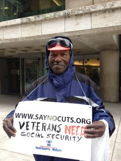 Veterans need Social Security!