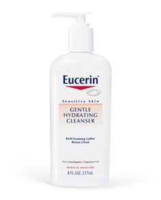 Eucerin Sensitive Skin Gentle Hydrating Cleanser  $0.67 / oz