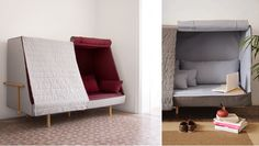 A Sofa That Becomes a Fortress to Let You Sleep in Complete Privacy - iCreatived
