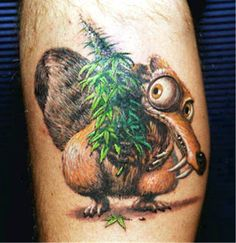 Download Free Marijuana Tattoos Tumblr — Some Enjoyable Pictures : Amazing Weed ... to use and take to your artist.