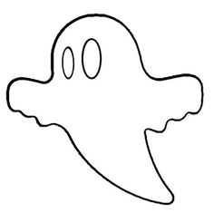 ghost pattern use the printable outline for crafts creating