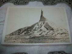 Vintage Postcard Chimney Rock Nebraska