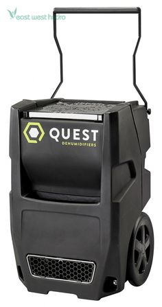 Quest Portable Dehumidifier quickly extracts water from growing environments and in curing and drying rooms. Compost Tea Brewer, Drying Room, Reverse Osmosis System, Grow Room, Dehumidifiers, Grow Tent, Grow Lights, The Cure, Environment