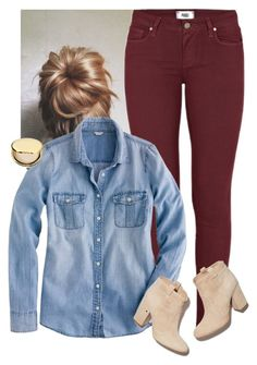"""Everyone deserves the chance to fly"" by sydneymellark ❤ liked on Polyvore featuring Paige Denim, J.Crew, Laurence Dacade, Estée Lauder, women's clothing, women, female, woman, misses and juniors"