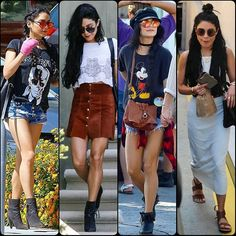 #VanessaHudgens Recent Sightings#cute #gorgeous #highheels #supermodel #model #boyfriendjeans #fashion #style #celebrity #printed #hollywood #star #beautiful #CropTop #floraldress #blazer #pretty#stylish #legsfordays #lookbook #look #ootd #outfit #heels... - Celebrity Fashion