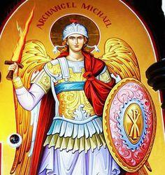 Sf.Arhanghel Mihail.icon orthodox Archangel Michael, Mother Mary, Religious Art, Gabriel, San, Tattoo, Archangel Gabriel, Virgin Mary, Lds Art