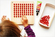 Montessori Multiplication Table