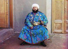 Mohammed Alim Khan (1880-1944), Emir von Buchara, 1911