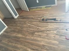 Trafficmaster Lakeshore Pecan 7 Mm Thick X 7 2 3 In Wide X 50 5 8 In Length Laminate Flooring 24 17 Sq Ft Case