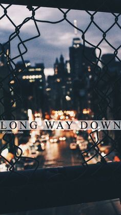 Long Way Down | ctto: @stylinsonphones