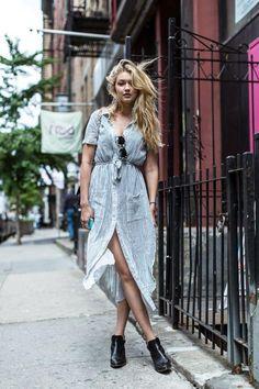 chemise rayée femme, chemise, robe, tunique