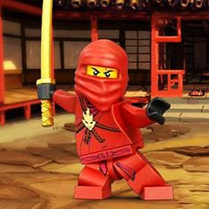 LEGO Ninjago Kai Photo