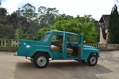 Jeep Willys Ford F75 Cabine Dupla 3 Portas Modelo Rarissimo. - R$ 65.000,00