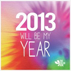 2013 is my year! #ColorRunner