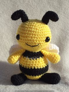 How cute is this little bumble bee? Handmade found on Etsy #ad #Etsy #bee #crochet #babygift #babyshower #giftsforbaby #handmade