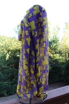 Peach Roots - Alma Mater LSU Scarf, $20.00 (http://peachroots.com/alma-mater-lsu-scarf/)