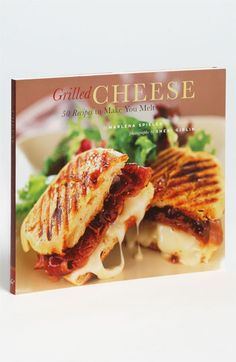 Marlena Spieler 'Grilled Cheese' Cookbook available at #Nordstrom