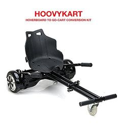 HoovyKart - Go Kart Conversion Kit for Hoverboards - Safer For Kids - All Heights - All Ages - Self Balancing Scooter - Compatible with All Hoverboards - HoverBoard Not Included Best Scooter, Kids Scooter, Racing Seats, Auto Racing, Go Kart Racing, Motorcycle Quotes, Girl Motorcycle, Cool Tech Gadgets, Scooters For Sale