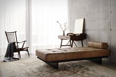 DS-80 Daybed by de Sede.     http://www.desede.ch/en/home-sector/collection/armchairs/ds-80/
