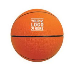 "Mini Rubber Basketball! Keep clientele in your court with the help of this awesome souvenir. This 7"", extra-durable mini rubber basketball features a re-inflatable athletic valve. Add your logo to create a fun giveaway to be distributed during upcoming fundraisers, parties, sporting events and much more! What an excellent opportunity to promote your brand. This basketball is a great alternative at an affordable cost. Make sure to order yours today! #promotional #tradeshow"