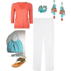 """""""turquoise and tangerine"""""""