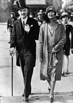 Prince Pierre, Duke of Valentinois and Princess Charlotte Duchess of Valentinois of Monaco.