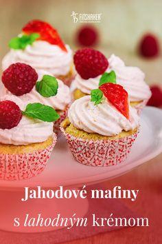 Tieto mafiny nielenže skvelo vyzerajú, ešte lepšie chutia, ale navyše majú aj nízky obsah kalórií. Čo viac si priať. :-) Cheesecake, Fit, Desserts, Tailgate Desserts, Deserts, Shape, Cheesecakes, Postres, Dessert